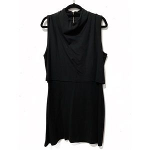 French Connection Mock Neck Sheath Dress